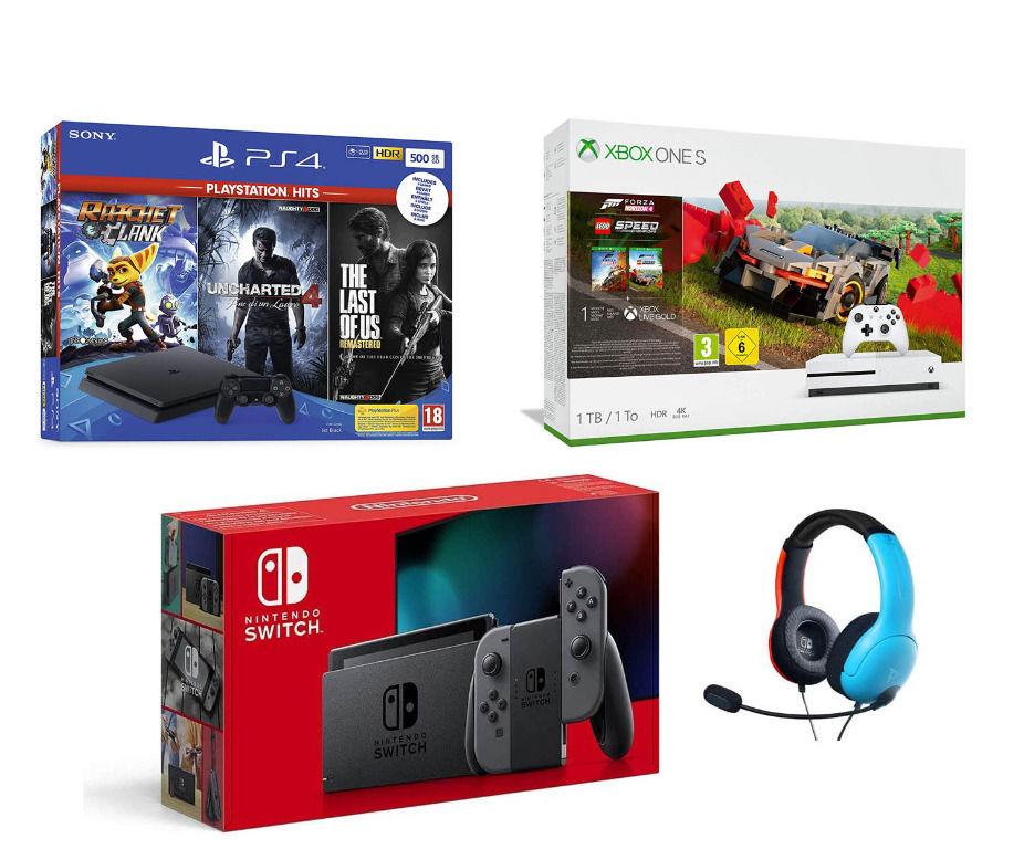 Console a scelta: PS4, Xbox One S o Nintendo Switch | Asta online sicura e affidabile su Baazr