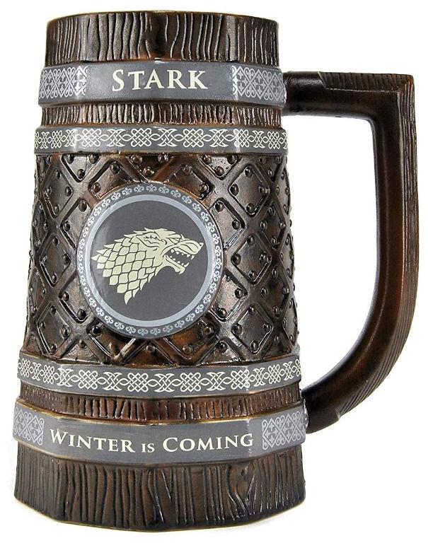 Boccale Birra - Game of Thrones Casa Stark | Asta online sicura e affidabile su Baazr