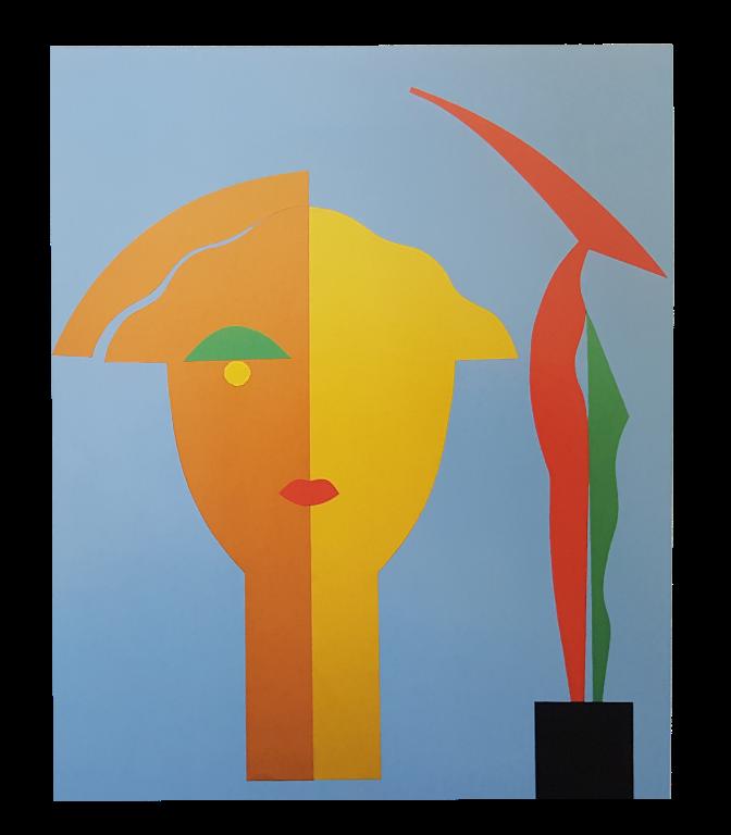 Baazr - CLAPS - Oriana - Collage su Tela