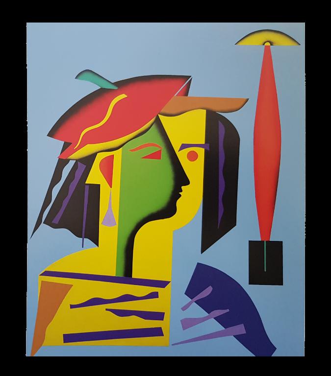 Baazr - CLAPS - Ivana - Collage su Tela