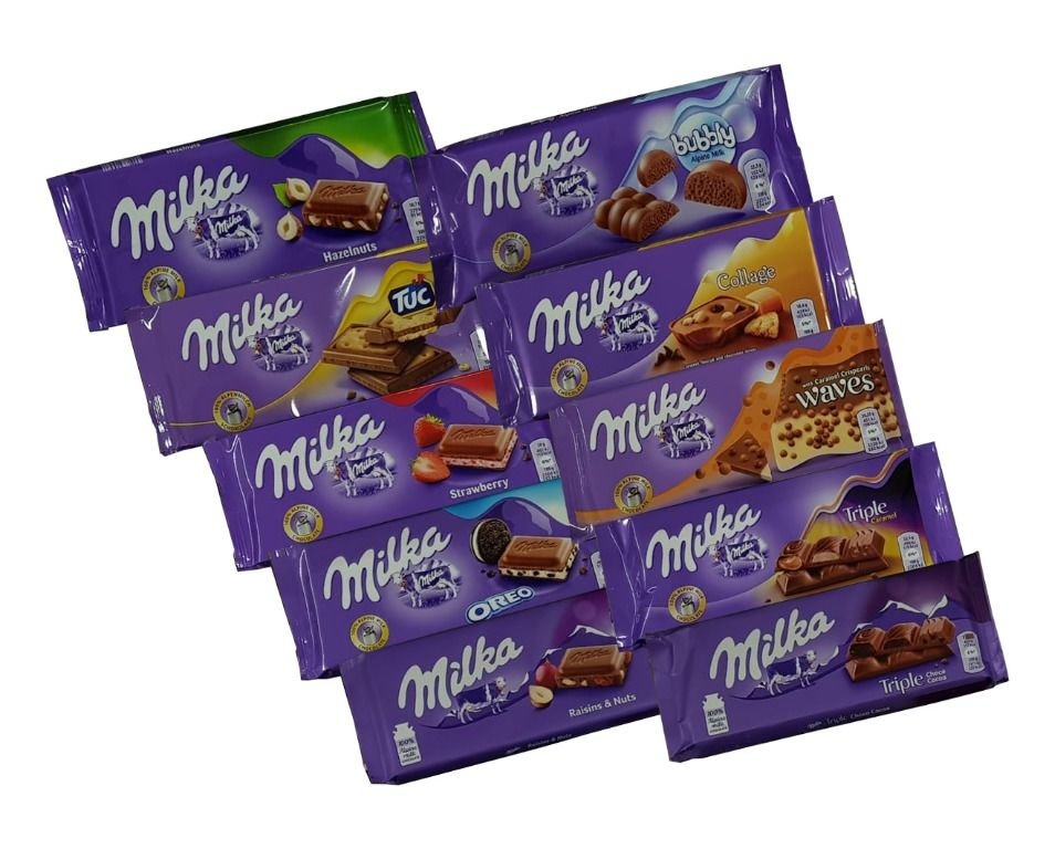 Baazr - 10 Cioccolate  Milka assortite - CS