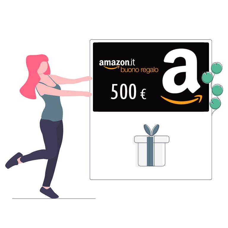 Baazr - Buono Amazon da 500 €