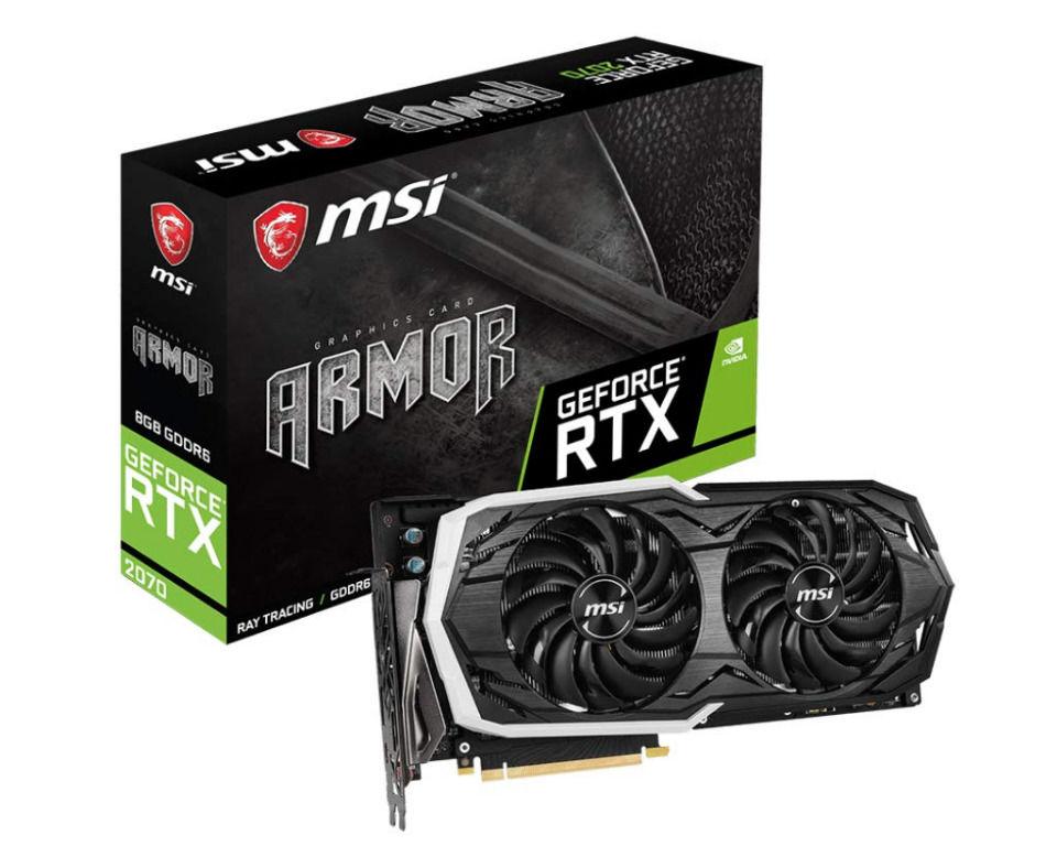 MSI GeForce RTX 2070 8GB | Asta online sicura e affidabile su Baazr