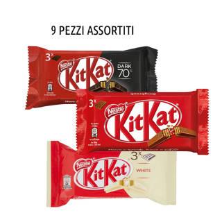 KitKat 9 confezioni da 3pz -  Assortite | Asta online sicura su Baazr