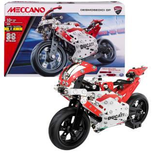MECCANO- Ducati Desmosedici GP -  Colore Rosso/Grigio - 6044539   asta online sicura e affidabile su Baazr