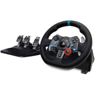 Logitech G29 Driving Force Volante da Corsa con Pedali Regolabili PS4/PS3/PC/Mac | asta online sicura e affidabile su Baazr