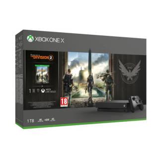 Xbox One X 1TB + Tom Clancy's The Division 2 | asta online sicura e affidabile su Baazr