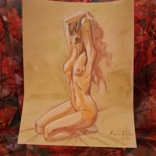 Baazr - Studio di un nudo artistico