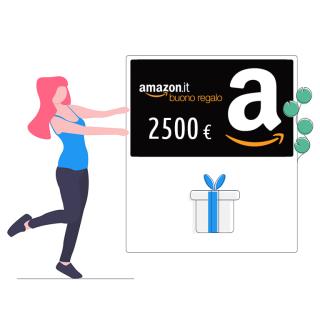 Buono Amazon da 2500 € | asta online sicura e affidabile su Baazr