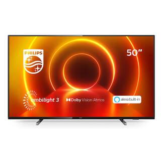 TV LED Philips 50PUS7805/12 4K - 50 pollici   asta online sicura e affidabile su Baazr
