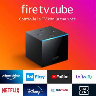 Fire TV Cube Lettore multimediale 4K Ultra HD   asta online sicura e affidabile su Baazr