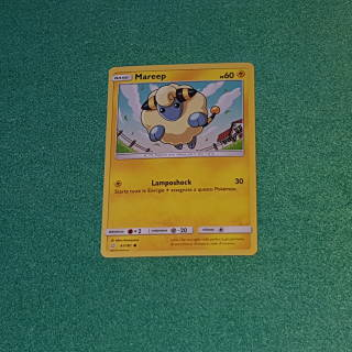 Baazr - Mareep 41/181 Comune - Pokemon Sole Luna Gioco di Squadra - Carta in italiano