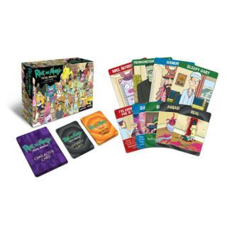 Baazr - Gioco da tavola Rick and Morty Total Rickall Card Game