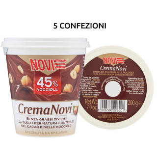 Novi Cremanovi - 5 confezioni da 200g | Asta online sicura su Baazr