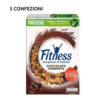 Fiocchi di Cereali Ricoperti di Cioccolato Fondente - 5 confezioni da 375g | Asta online sicura su Baazr