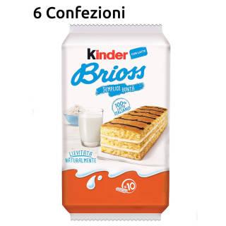 Kinder Brioss - 6 confezioni | Asta online sicura su Baazr