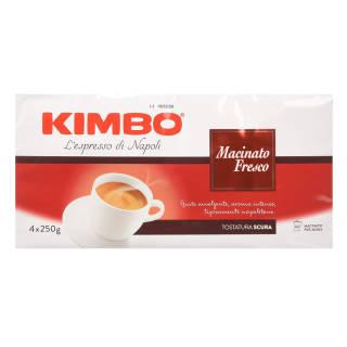 Kimbo L'espresso di Napoli - Caffè Macinato Fresco - 2 Confezioni da 4 x 250g | Asta online sicura su Baazr