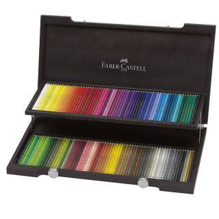 Faber Castell Valigetta Legno 120 Matite Polycro - multicolor   Asta online sicura su Baazr