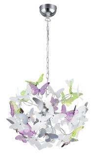 Reality Leuchten - Lampadario cromato 50 x 50 x 150 cm | Asta online sicura e affidabile su Baazr