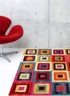 Tappeto Multicolore - ABC - 230 x 160 cm   Asta online sicura e affidabile su Baazr