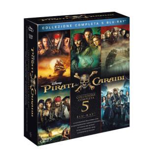 Film - Pirati dei Caraibi Collection Blu-ray   Asta online sicura e affidabile su Baazr
