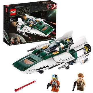 LEGO - Star Wars Episode IX A-Wing Starfighter della Resistenza - 75248 | Asta online sicura e affidabile su Baazr