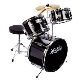 Batteria - Music Alley Tamburo Kit - Junior - Nero | Asta online sicura e affidabile su Baazr