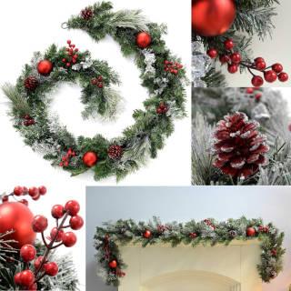 Ghirlanda natalizia decorativa da 180 cm | Asta online sicura e affidabile su Baazr