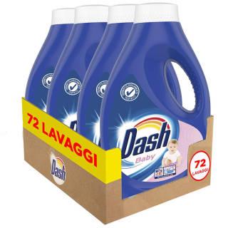 Dash Baby - Detersivo Lavatrice Ideale per Capi Delicati - Maxi Formato 72 Lavaggi | Asta online sicura e affidabile su Baazr