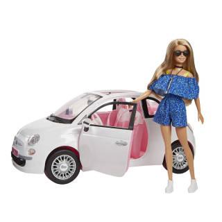 Barbie con Fiat 500 | Asta online sicura e affidabile su Baazr