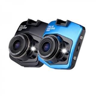Baazr - Telecamera Dvr Registra Con Display Per Auto 900C Full HD BLU + KIT Assemblaggio