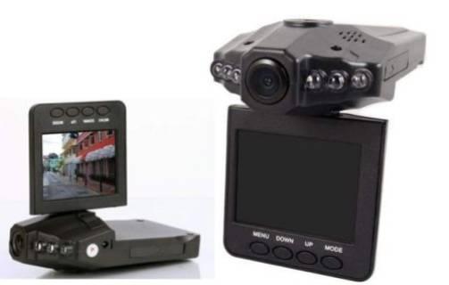 Baazr - Mini DVR Portatile Auto Telecamera Infrarossi Schermo LCD 2,5 DASH CAM SD