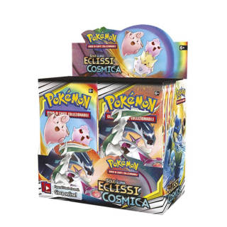 Pokemon TCG - Eclissi Cosmica - Display 36 Buste Pokémon | Asta online sicura e affidabile su Baazr