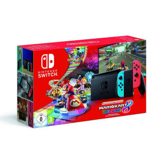 Nintendo Switch - Mario Kart 8 Deluxe Bundle 2019 (codice download) - Limited | Asta online sicura e affidabile su Baazr