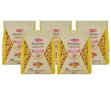 Barilla Tortellini con Prosciutto Crudo - 500g x5 Pezzi | Asta online sicura e affidabile su Baazr