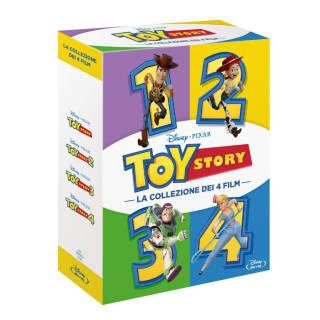 Cofanetto Toy Story 1, 2, 3, 4 Blu-ray o DVD | Asta online sicura e affidabile su Baazr