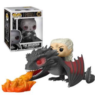 Funko Pop! - La Montagna + Daenerys Con Drogon (Game Of Thrones) | Asta online sicura e affidabile su Baazr