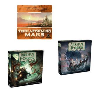 Gioco da tavolo a scelta: Terraforming Mars, Arkham Horror, A.H. Abissi Oscuri espansione   Asta online sicura e affidabile su Baazr