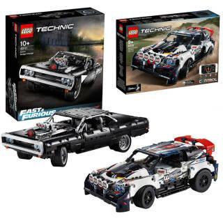 LEGO Technic: scelta tra Dom's Dodge Charger 42111 o R-Car Auto da Rally Top Gear Telecomandata  42109   Asta online sicura e affidabile su Baazr