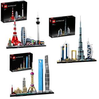 LEGO Architecture: set a scelta | Asta online sicura e affidabile su Baazr