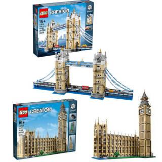 LEGO Creator: scelta tra Tower Bridge 10214 o Big Ben 10253 | Asta online sicura e affidabile su Baazr