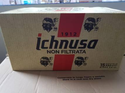 Baazr - Birra Ichnusa non filtrata cassa 15 bottiglie 0,5 cl