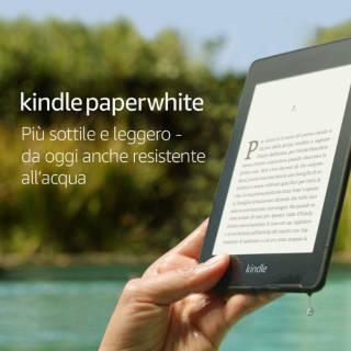 """Kindle Paperwhite da 6""""- 32 GB + Wi-Fi  resistente all'acqua   Asta online sicura e affidabile su Baazr"""