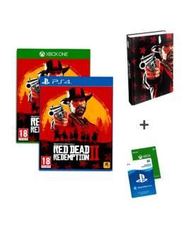 Baazr - Red Dead Redemption 2 PS4/XBOX  + Guida Ufficiale + Ricarica Digitale Psn o Xbox