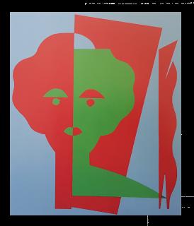 Baazr - CLAPS - Uma - Collage su Tela