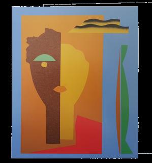 Baazr - CLAPS - Teicla - Collage su Tela