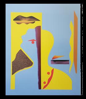 Baazr - CLAPS - Stella - Collage su Tela