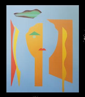 Baazr - CLAPS - Porzia - Collage su Tela