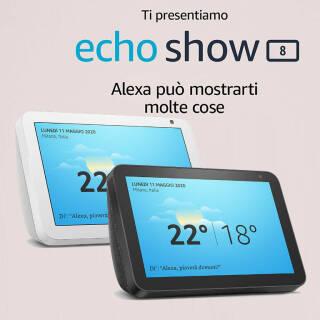 Echo Show 8 – Resta sempre in contatto con l'aiuto di Alexa | Asta online sicura e affidabile su Baazr