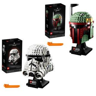 LEGO Star Wars: Casco a scelta Stormtrooper 75276 o Boba Fett 75277 | Asta online sicura e affidabile su Baazr